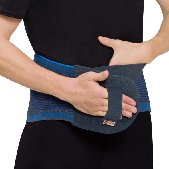 CO-5033  3D Lumbar Support with massage pad