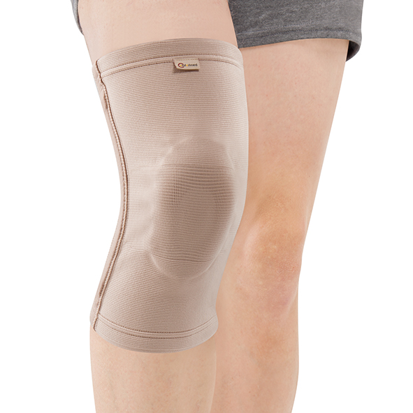CO-7032  Elastic Knee Support with pad & 2 spiral stays