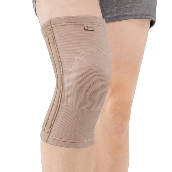 CO-7033  Elastic Knee Support with pad & 4 spiral stays